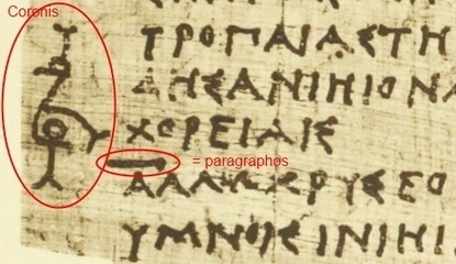 How the end of a book was marked in ancient rolls | Classical Geek | Scoop.it
