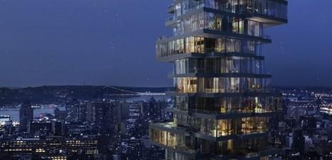 """Il nuovo grattacielo di lusso di New York è il 56 Leonard Street [FOTO]   """"Out of the Box""""   Scoop.it"""