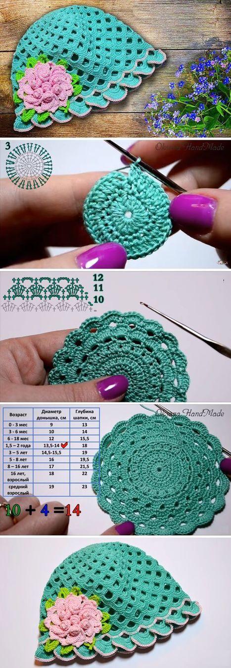 Crochet Pattern Easy Making Art Cap Toppi In 900crochet