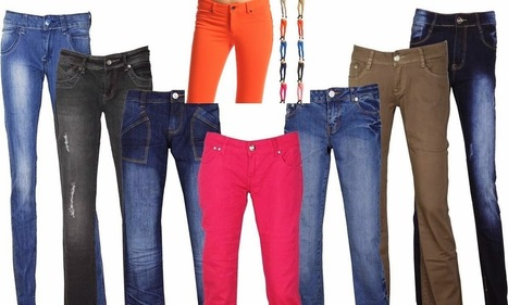 Colored Deal Jeans are giving the Traditional Blue Jeans a run for its cash | Fashion Of Indian | Fashion Of Indian | Scoop.it