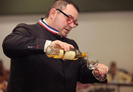 Chef sommelier du groupe Georges Blanc à Vonnas et Meilleur Ouvrier de France , Fabrice Sommier est également un passionné de cigare | Le Vin et + encore | Scoop.it
