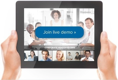 Blue Jeans : making video conferencing easy   1Site2Day   Scoop.it