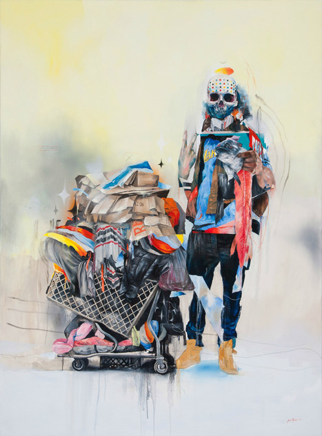 Cool #Oil #Paintings by Dutch Artist. #art #surreal #collage #colour | Luby Art | Scoop.it