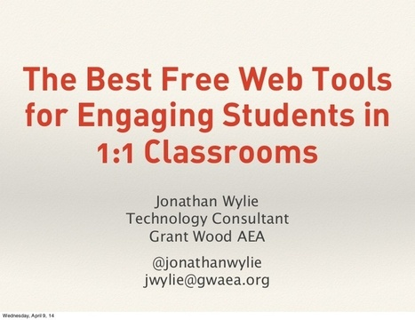 The Best Free Web Tools for Engaging Students in 1:1 Classrooms | Cool Web Tools for Education | Scoop.it