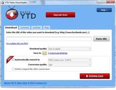 YTD Video Downloader and Converter | Multiliteracies | Scoop.it