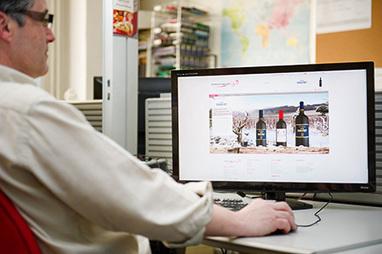 Vin: Internet gagne du terrain | Tag 2D & Vins | Scoop.it