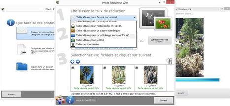 Photo Réducteur – Logiciel pour réduire la taille de vos photos ! | web by Lemessin | Scoop.it