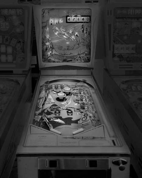 Saudade: Black and White Photos of Vintage Pinball Machines by Michael Massaia | PhotoHab | Scoop.it