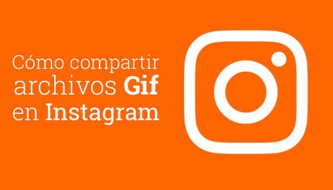 Aprende a subir #Gifs a #Instagram y viralizar tu contenido @luzgrango | #socialmedia #rrss | Scoop.it