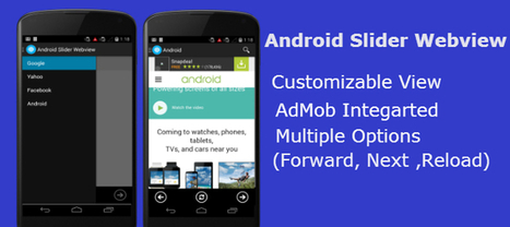 Buy Android WebView Slider Template App Templates | Chupamobile.com | android source code | Scoop.it