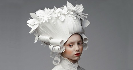 Russian Artist Creates Intricate Baroque Wigs From Paper | Culture and Fun - Art | Scoop.it