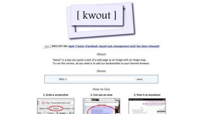 Kwout. Capturer des extraits de sites – Les Outils Tice | TIC et TICE mais... en français | Scoop.it