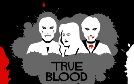 'True Blood,' 'Twilight' Sink Teeth Into Social Media [INFOGRAPHIC] | For Lovers of Paranormal Romance | Scoop.it