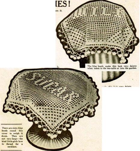 Instant Download Vintage Crochet Pattern For Mi