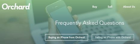 Learn about selling an iPhone to Orchard | GetOrchard.com | Find an Iphone | Scoop.it