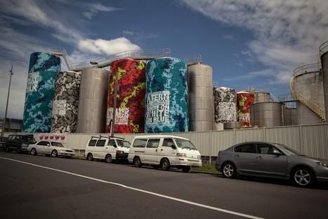 Industrial Graffiti Art by ASKEW ONE | TrendsArt | Scoop.it