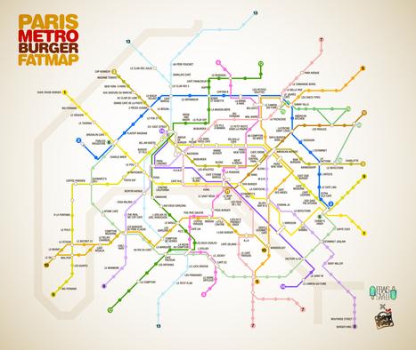 Plan-Paris-Metro-Burger-Fraisfrais-SD.jpg (1663x1403 pixels) | Jean-Fabien | Scoop.it