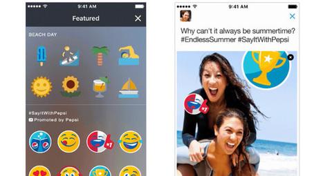 Twitter lance les Stickers sponsorisés ! | La révolution numérique - Digital Revolution | Scoop.it
