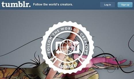 Vincent Abry : Comment utiliser Tumblr pour son entreprise ?   DigitalBreak   Scoop.it