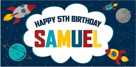personalized happy birthday banners per