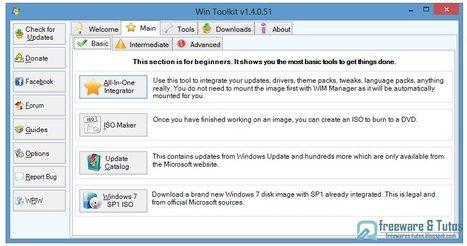 Win Toolkit : un logiciel gratuit pour personnaliser votre installation de Windows | Time to Learn | Scoop.it