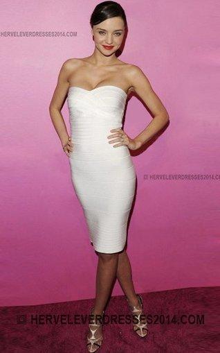 2b7202882a34 Miranda Kerr Herve Leger Discount Strapless Bandage Dress White [ Miranda  Kerr Herve Leger Strapless White] - $146.00 : Cheap Herve Leger Dresses  2014 with ...