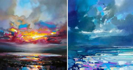 Vibrant Oil Paintings of Scottish Landscapes by Scott Naismith.... | Art for art's sake... | Scoop.it