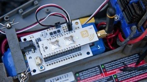 Flutter: A $20 Arduino with a wireless half-mile range | Chips | Geek ... | Raspberry Pi | Scoop.it