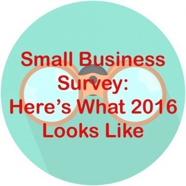 Small Business Survey: Here's What 2016 Looks Like - Martha Spelman - Branding & Marketing Consultant | MoreMarketing | Scoop.it