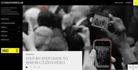 CITIZEN EVIDENCE LAB | Interactive possibilities | Scoop.it