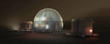 NASA just released its incredibly cool concept for houses on Mars | DigitAG& journal | Scoop.it