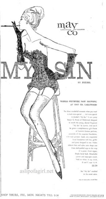 Today's Vintage Lingerie Lesson: The History Of Renee Of Hollywood & Jezebel Lingerie (With Label Identification Guide) | Antiques & Vintage Collectibles | Scoop.it
