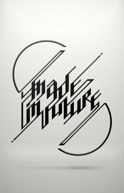 Fresh Typography Experiments To Inspire You | #Design | Scoop.it