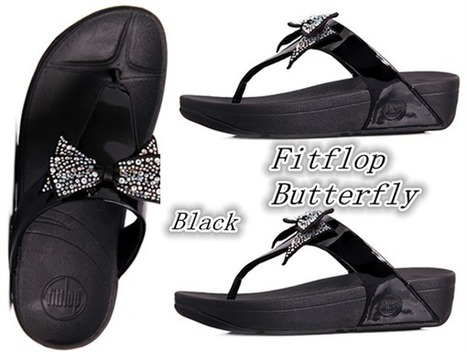 02a8714e2 Fitflop Butterfly Flower Women s Thong Sandals Outlet USA
