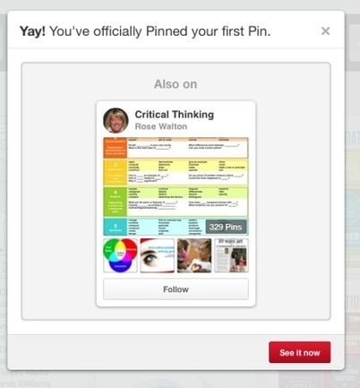 Ten Minutes of Connecting: Day 10 - Pinterest is for more than just crafts and recipes! | Leading Learning | Scoop.it