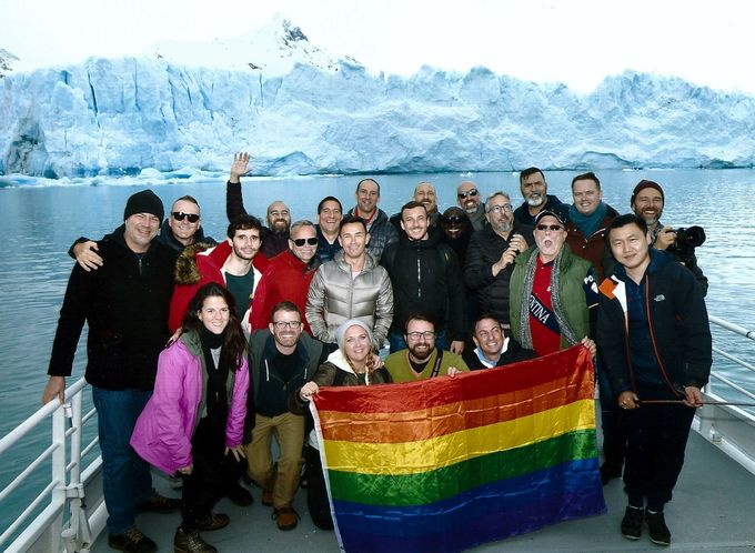 LGBT Group Explores El Calafate and the Glaciers of Patagonia