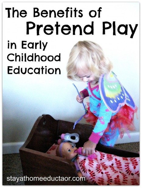 The Benefits of Dramatic Play in Early Childhood Development | www.homeschoolsource.co.uk | Scoop.it