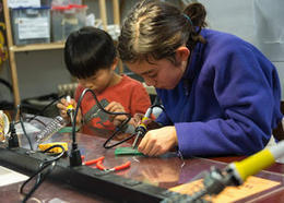 When children let their imaginations run wild, the STEM subjects get a boost | MakerSpace in the School Library Media Center | Scoop.it