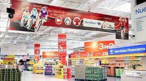 Rojo De Sus Establecimientos Viste Carrefour wTxzP7PEq