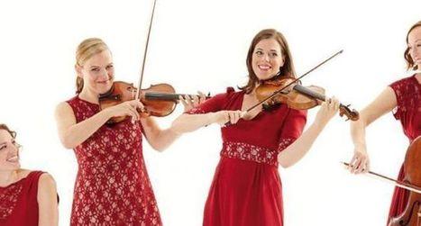 «Salut Salon» : un quatuor de femmes virtuoses et humoristes | allemagne musique | Scoop.it