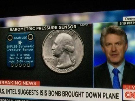 CNN Shows Adafruit Part During Bombing Segment | Raspberry Pi | Scoop.it