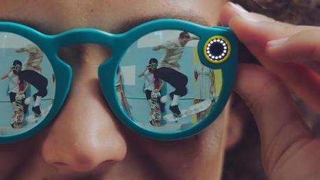 Snapchat lancia Spectacles: gli occhiali per condividere video   Social Media War   Scoop.it