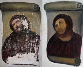 'Fresco Jesus' Attracts Hundreds of Visitors - Discovery News | Faith and Prayer | Scoop.it