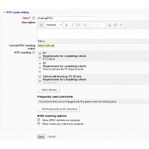 Moodle plugins directory: BTEC marking | Moodle and Mahara | Scoop.it