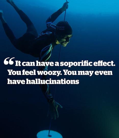 'Lungs like Coke cans': The science behind William Trubridge's superhuman feats   Apnée   Scoop.it