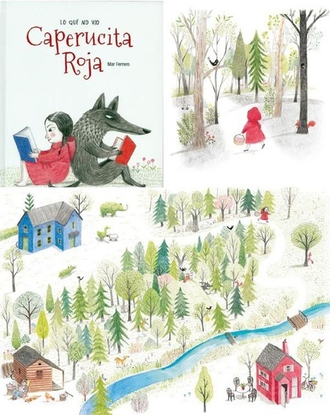 20 Caperucitas Rojas para fomentar la imaginación de los niños | Recursos Primaria en Scoop.it | Scoop.it