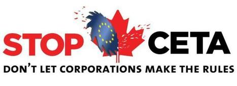 Citizen groups say no to #CETA | Occupy Belgium | Scoop.it