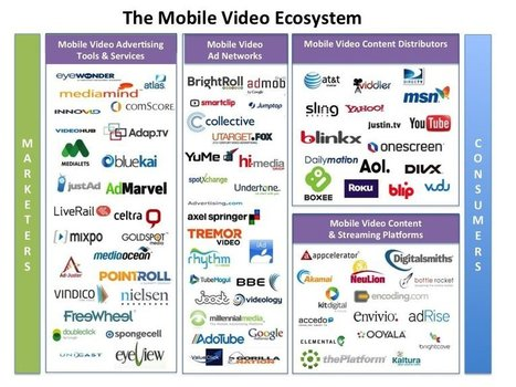 INFOGRAPHIC: Inside The Massive Mobile Video Ecosystem | Storytelling Content Transmedia | Scoop.it