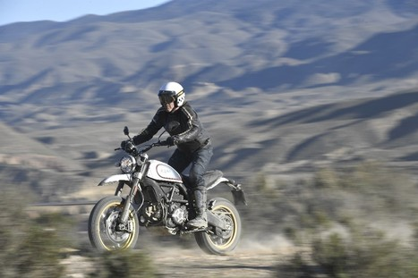 2017 Ducati Scrambler Desert Sled First Ride Review | 12 Fast Facts | Ductalk Ducati News | Scoop.it