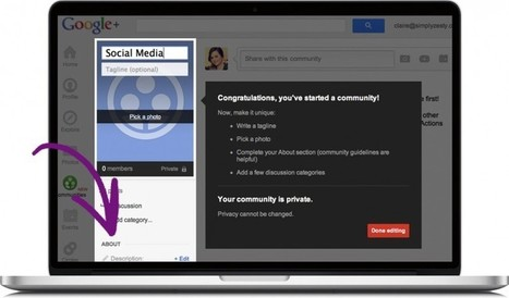What You Need To Know About Google+ Communities | Tocquigny's Digital Marketing Daily | The Google+ Project | Scoop.it